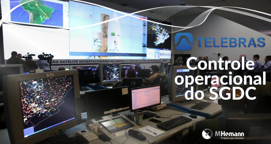 Telebras assume controle de operacionalização do SGDC