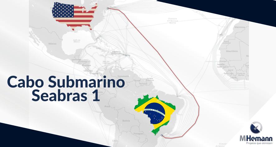 Cabo Submarino Seabras-1 que liga Brasil aos Estados Unidos será lançado em Setembro