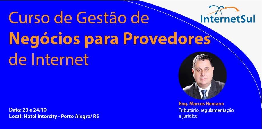 Curso de Gestão de Negócios para Provedores de Internet