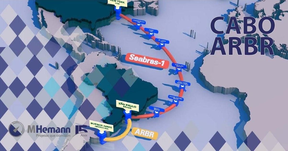 Cabo ARBR da Seaborn que ligará a Argentina ao Brasil tem fornecedora de infraestrutura anunciada