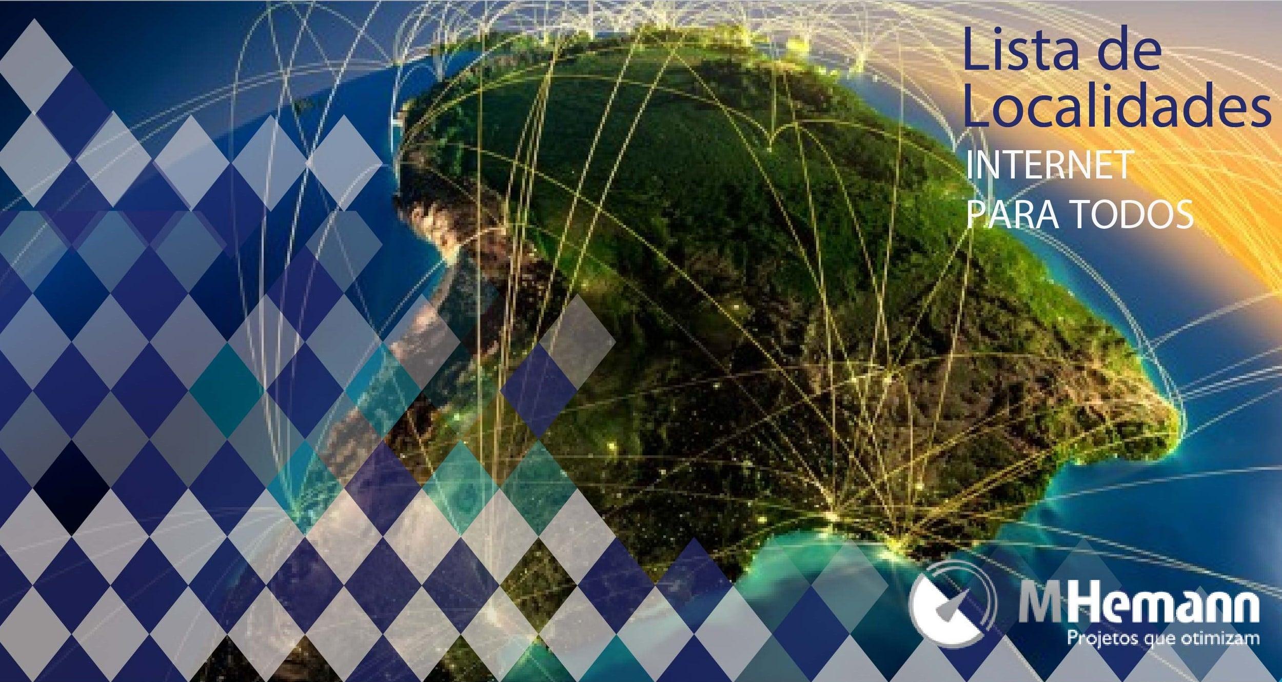 Lista de Localidades do Programa Internet Para Todos