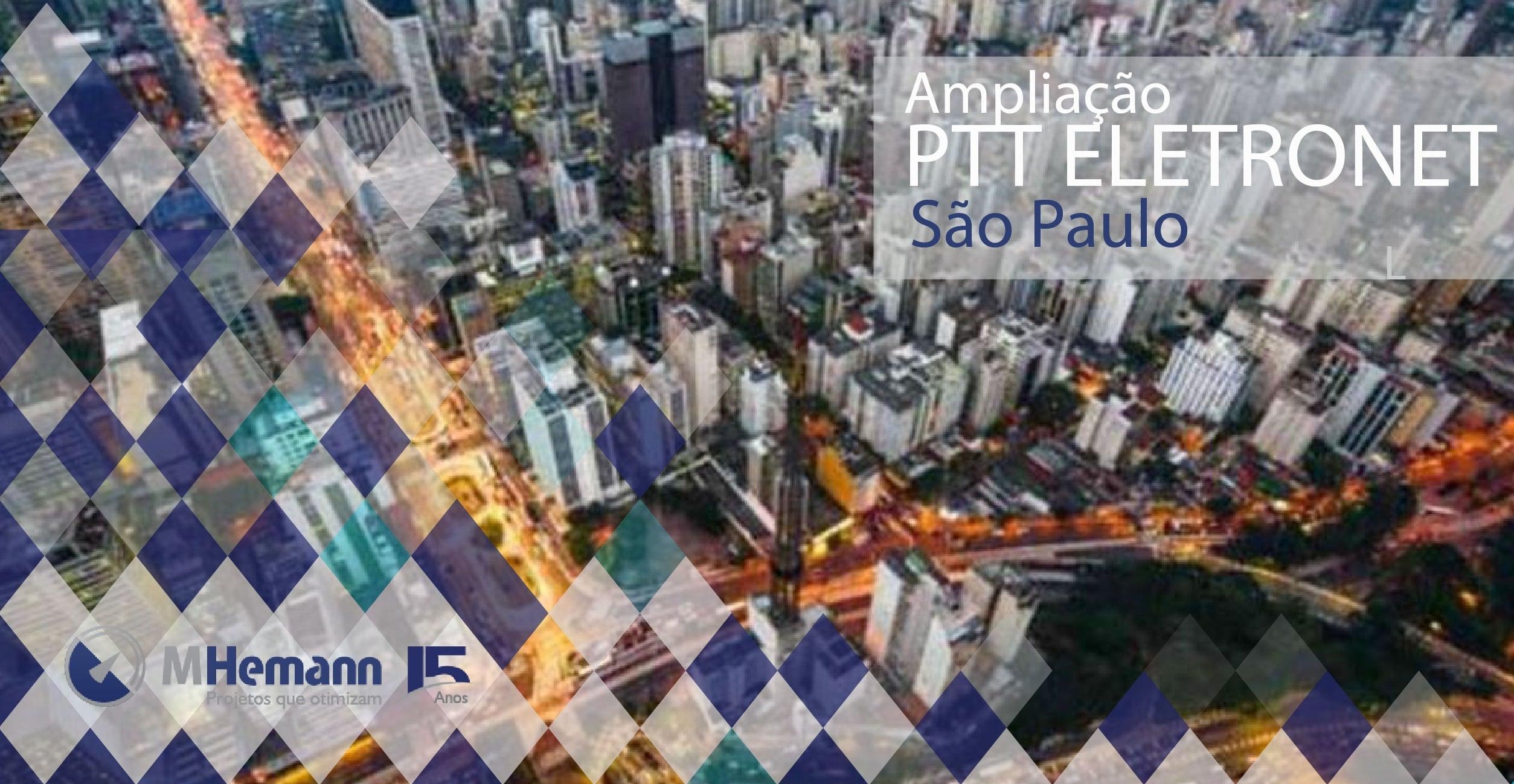 NIC.br e Eletronet ampliam a capacidade de PTT em São Paulo