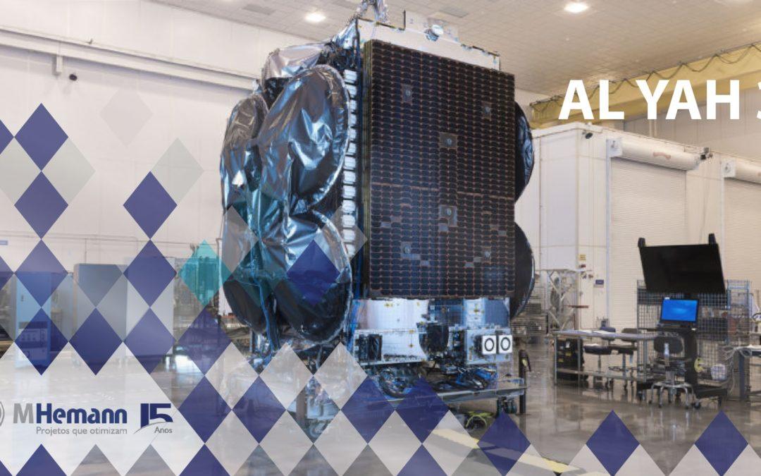 Empresa Yahsat anuncia abertura comercial do Al Yah 3 – Satélite com capacidade de cobertura para 5 mil cidades brasileiras