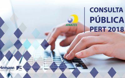 Está aberta Consulta Pública da Anatel para o PERT 2018- Plano Estrutural de Redes de Telecomunicações