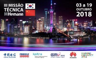 III Missão Técnica MHemann | China – Coréia do Sul 2018 |