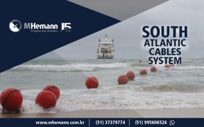 Concluido o primeiro cabo submarino do atlântico sul. Sistema SACS liga Angola ao Brasil com alta capacidade.