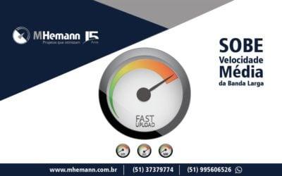 Sobe a velocidade média de conexão na banda larga fixa no Brasil