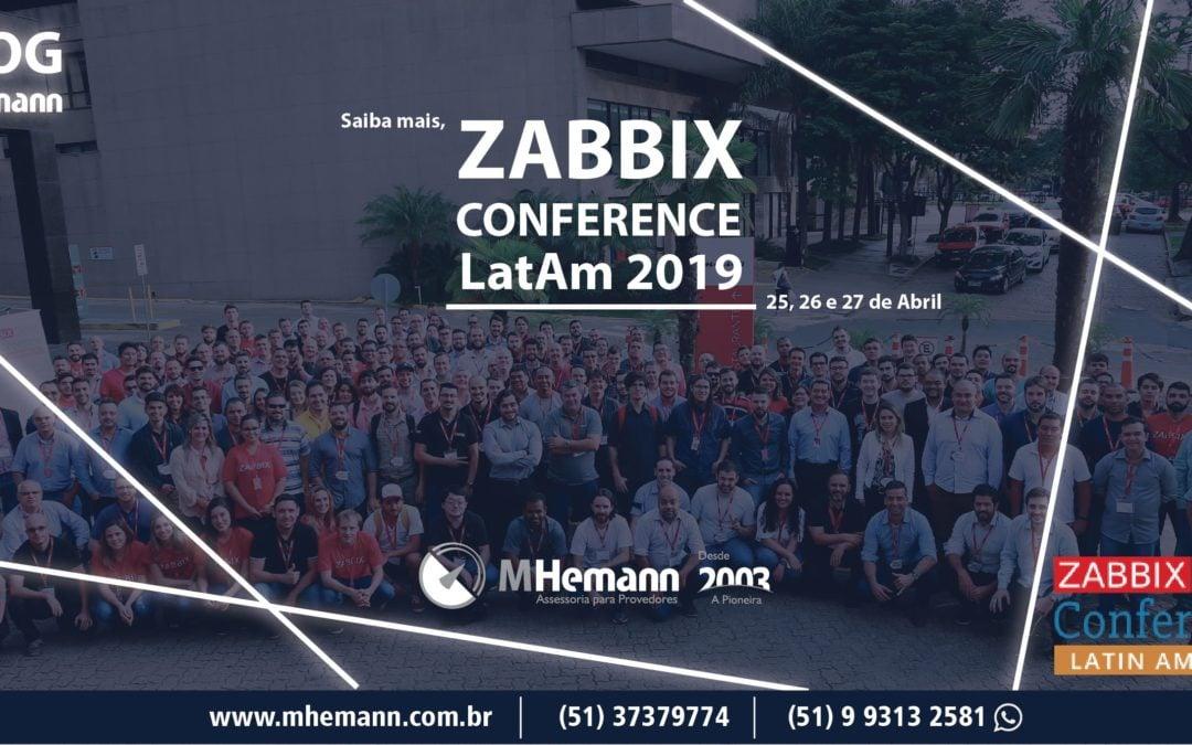 ZABBIX CONFERENCE LatAm 2019: O maior evento latino-americano sobre monitoramento de TI e Zabbix