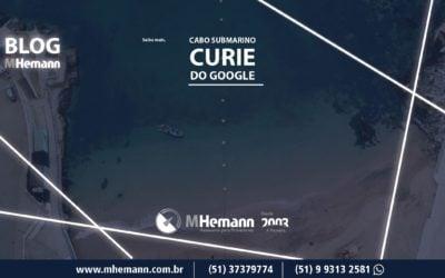 Cabo Submarino Curie   Sistema do Google cria nova rota entre EUA e América do Sul