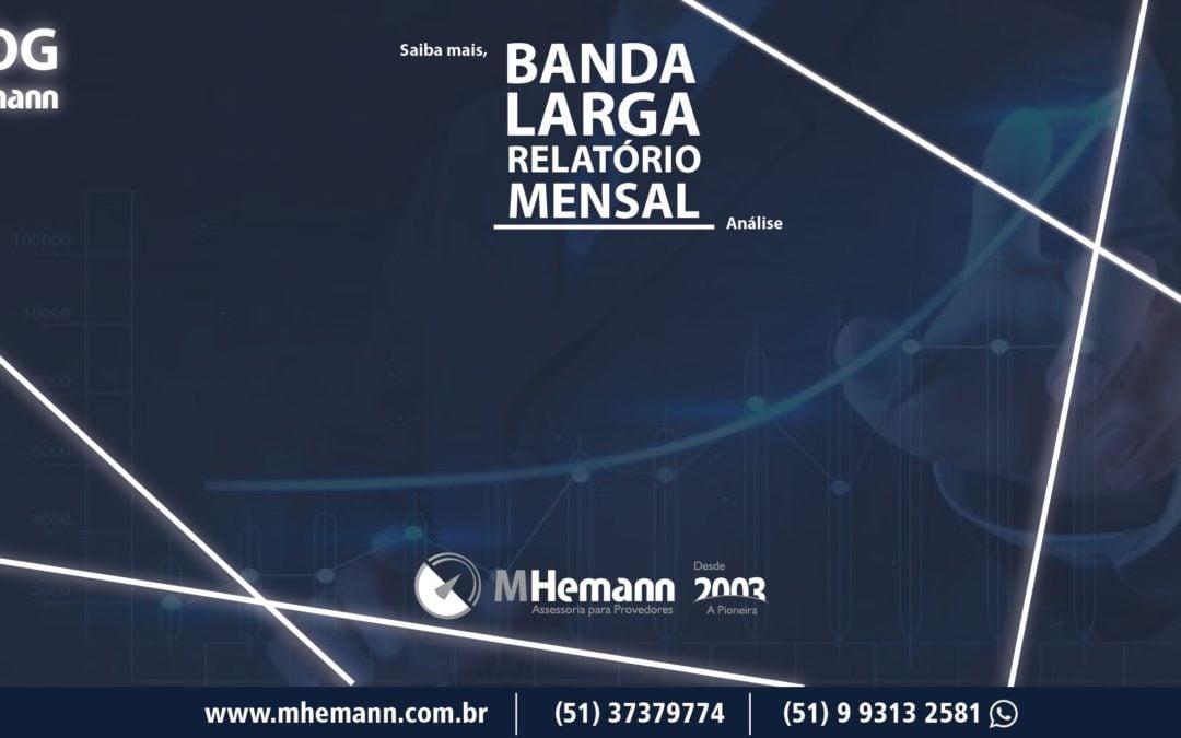 SCM – Serviço de Comunicação Multimídia/ Banda Larga Fixa tem crescimento de 6,32% no país em comparação ao mesmo período do ano passado